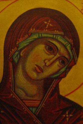 Ikoninmaalauskurssi vasta-alkajille: Maria