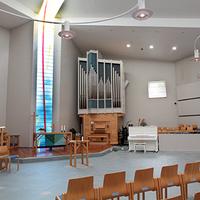 Neulamäen kirkon kirkkosali